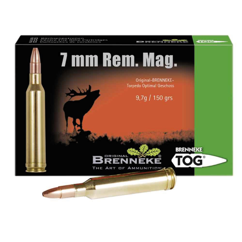 BRENNEKE 7mm Rem Mag  TOG - Rifle ammunition - AKAH