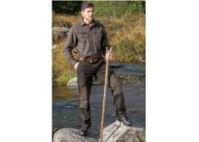 SHOOTERKING Rip-Stop Trousers Gents Brown