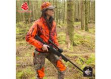 SHOOTERKING Softshell Jacket Ladies Mossy Blaze Orange Camo