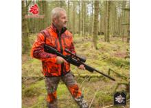 SHOOTERKING Softshell Jacket Mossy Blaze Orange Camo
