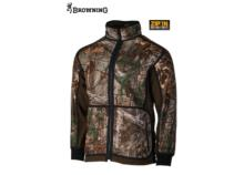 BROWNING Powerfleece Reversible Jacket Realtree Camo/green